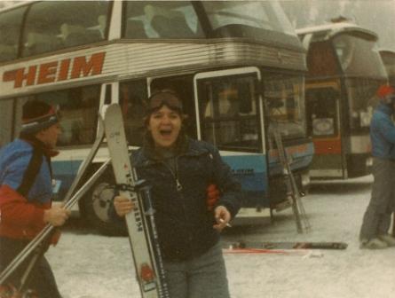 My ski instructor