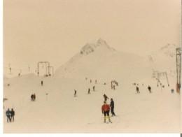 the t-bars on Austrian slopes
