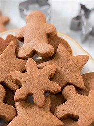 Cutout cookies from the oven or griddle