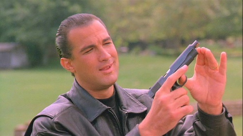 Long before he became the bloated parody  he is today, the film gives Seagal the chance to demonstrate his credibility as a leading man. Unfortunately, he fluffs it.
