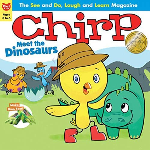 Magazine subscriptions like Chirp offer a mix of stories, facts, and crafts for kids