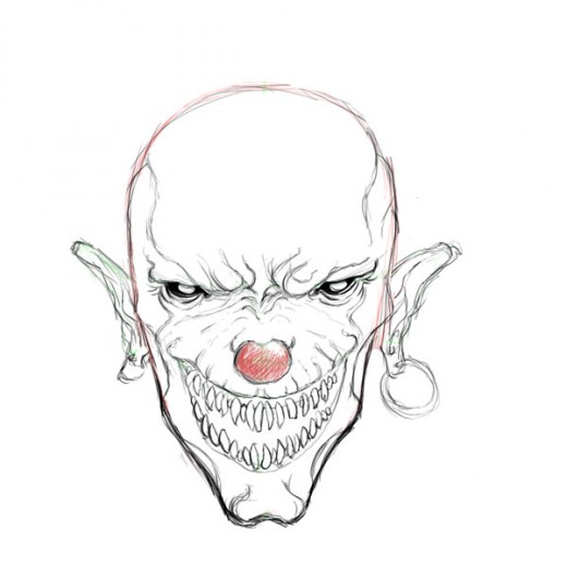 also How To Draw Scary Things together with How To Draw A Zombie Tattoo Step 3 besides How To Draw Skull Tattoos Skull Tattoos Step 1 moreover Baby Krishna Images Hd. on scary clown apps