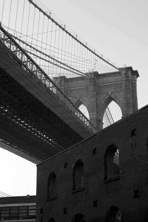 A view of the Brooklyn Bridge. (Photo by Piotr Bizior)