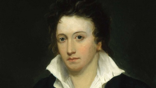 Percy Bysshe Shelley by Alfred Clint - © National Portrait Gallery, London