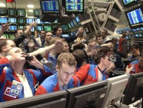 Chicago Board of Options Trading Floor