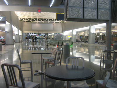 Cafeteria inside McCarran International Airport
