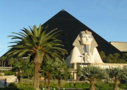 Luxor on the Vegas Strip