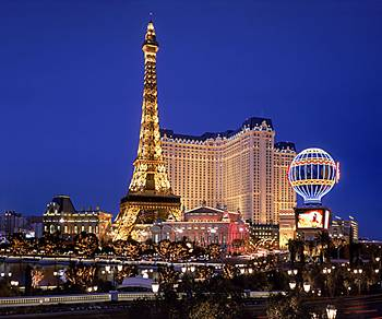 Paris on the Vegas Strip