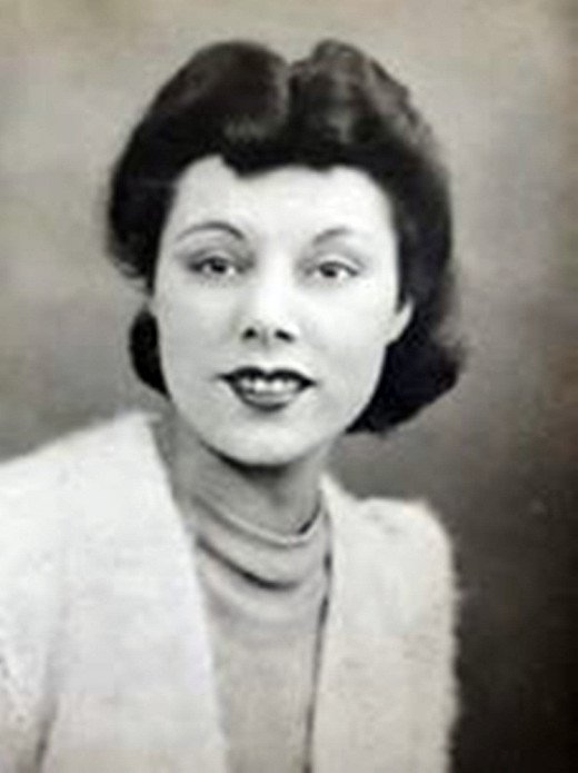Dad's sister, my Auntie Alice.