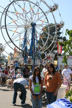 County Fair in Ventura ....California Right on the Beach !      Starts in July - August