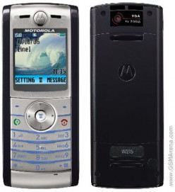 Motorola W215      It also have just 1MB internal memory.  It has VGA camera with 640 x 480 pixels.  It can also play video.  However, there is no available data file transfer which will make it impossible to transfer files to other devices.