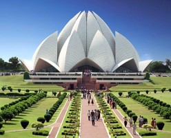 Places to be visited in Delhi - Lotus Temple