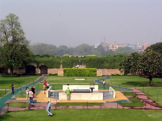 Inside View of Raj Ghat