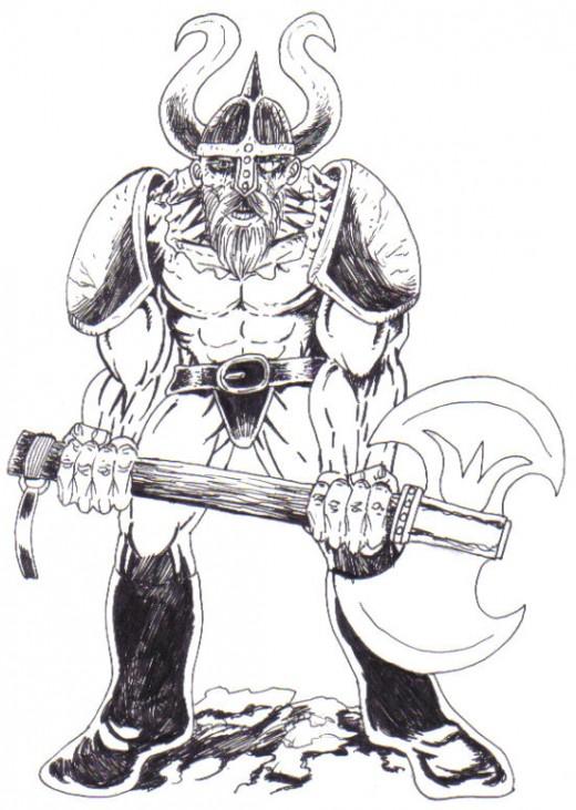 Warrior Drawings