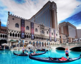 The Venetian on the Vegas Strip