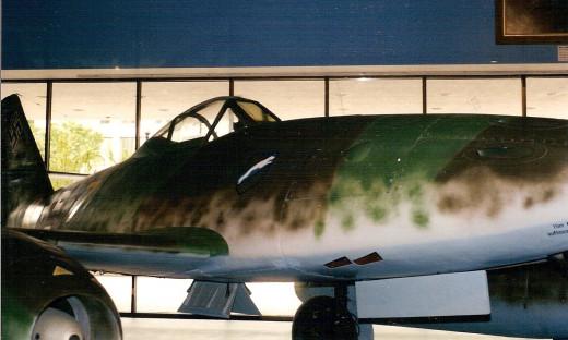 Me 262 at the NASM, circa 1990.