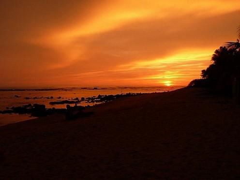 Los Cabanos Sunset, El Salvador