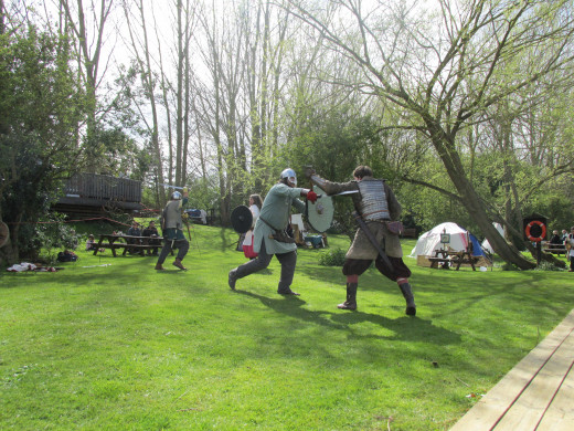 Violence was common in Viking society.