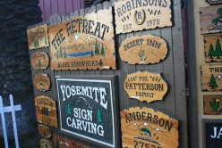 Hand carved personalized signs of every size and shape, and much much more!