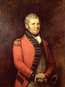 Lt Governor John Graves Simcoe