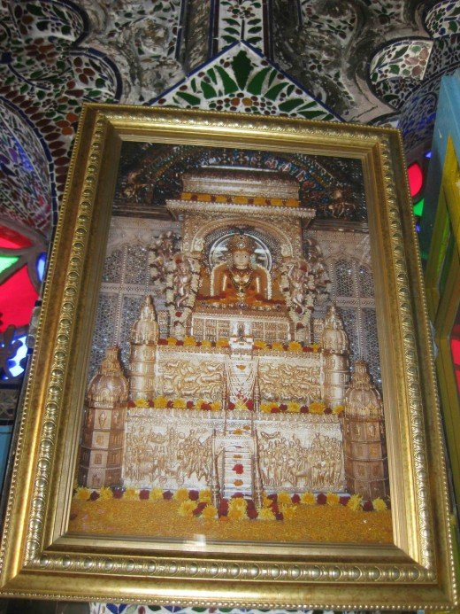 Sri Sheetalnath: Fully ornamented