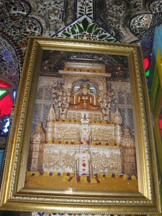 Sri Sheetalnath: Fully ornamented