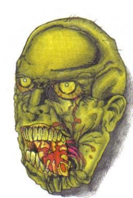 How To Kill A Zombie Drawing by Wayne Tully