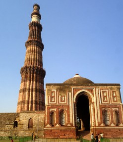 Places to be visited in Delhi - Qutab Minar