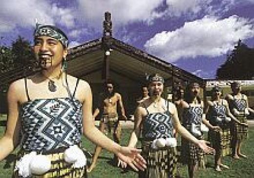 Two Cultures Blending-NZ Culture