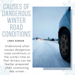 Causes of Dangerous Winter Road Conditions
