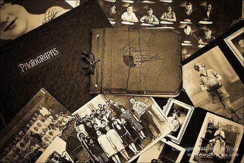 Vintage Photo Albums