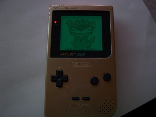 A Backlit Gameboy - should have been the norm...