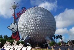 The symbol of Epcot: a giant golf ball. And no, no one knows why.