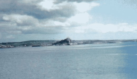 Marazion in the distance from Penzance