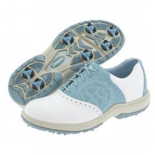 The Vidalia Maple golf shoe for women