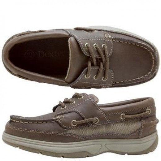 The famous Dexter boat shoes