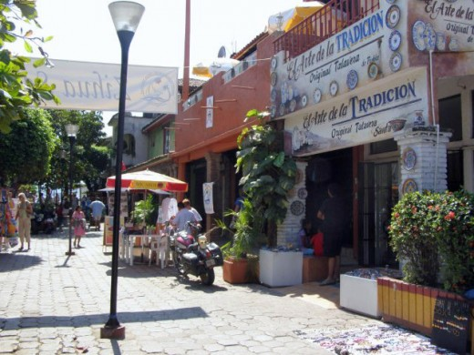 Shops in El Centro
