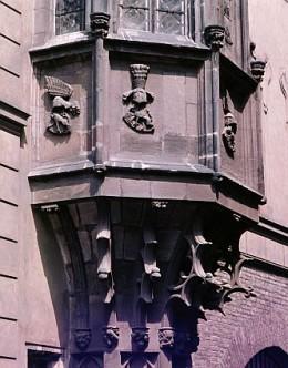 an oriel window. Image:dkimages.com