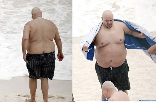 Fat Joe living up to his name