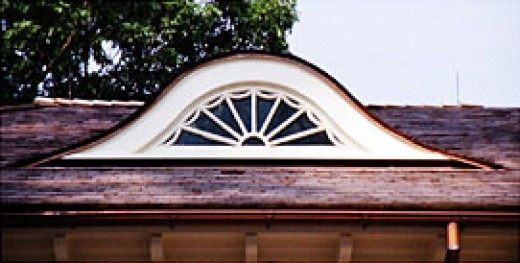 A beautiful example of an eyebrow window. Image by jsbensonwoodworking.com