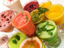 More Delicious Summer Recipes  - Easy Fresh Fruit Juice Coolers