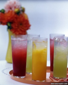 Fresh Fruit Spritzers