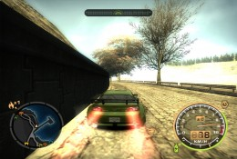 Green Mazda RX-8, racing car