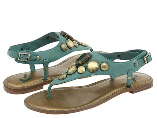 Report Kinkaid Sandals are perfect for poolside!