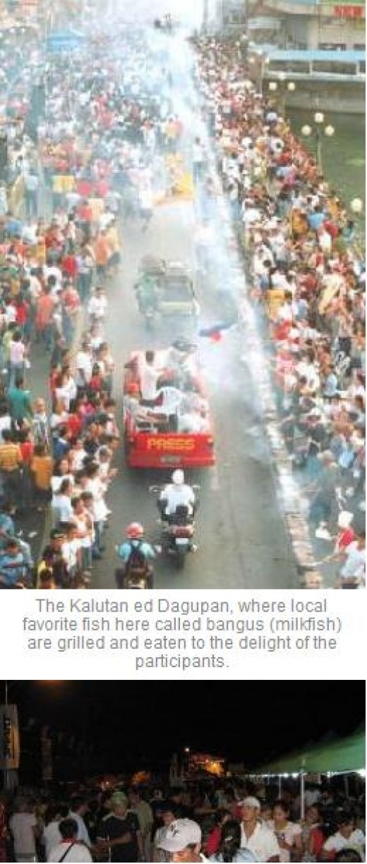 The Bangusan Party, a street party filled with merrymaking and music, is considered to be one of the largest in the world