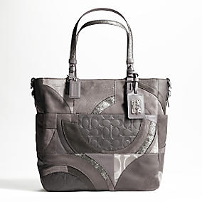 Coach Tribeca Logo Collage Tote $498