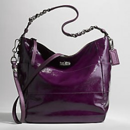 Coach Tribeca Large Patent Shoulder Bag $398