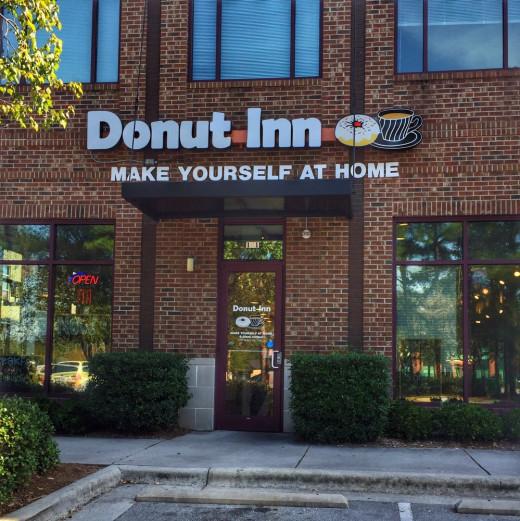 Donut Inn is great for a breakfast treat.