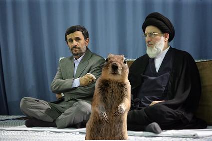 Crasher Squirrel Says Even I voted for Mousavi!