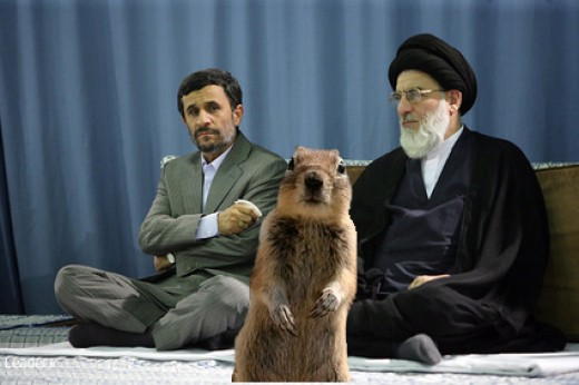 Crasher Squirrel Says Even I voted for Mousavi!